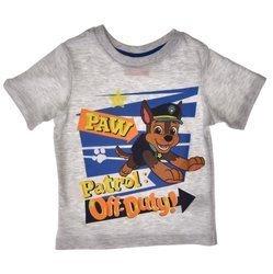 T-shirt dla dzieci Psi Patrol Szary