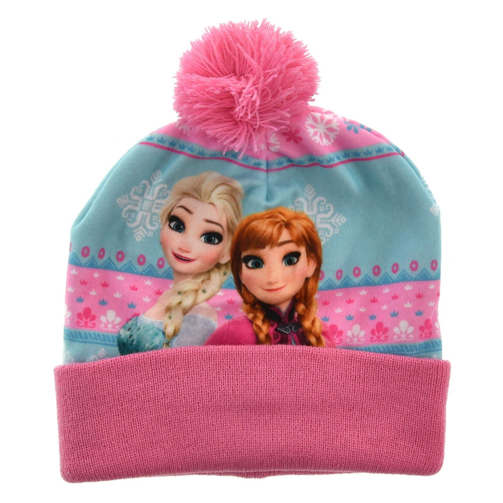 3000c776 Zimowa czapka dla dzieci Frozen Kraina Lodu Różowy || Kolorowy ...