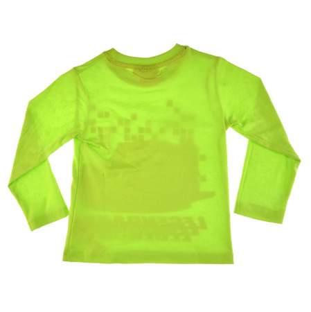 Bluzka dla dzieci z postacią z bajki Cars Auta zielona