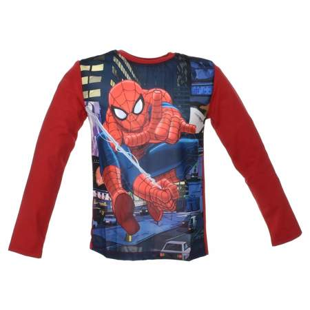 Bluzka z długim rękawem dla dzieci Spider-Man