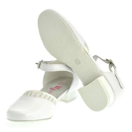 Buty komunijne dla dziewczynki Wojtyłko 2029B