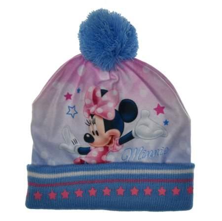 Czapka zimowa Minnie Mouse Myszka Minnie
