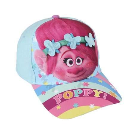 Dziecięca czapka z daszkiem Trolls