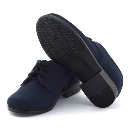 Granatowe buty komunijne dla dzieci Kornecki 04060