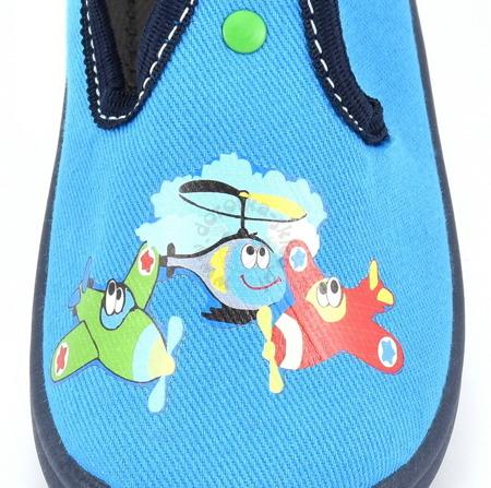 Kapcie dla dzieci  Vi-GGa-Mi Bambi termodruk