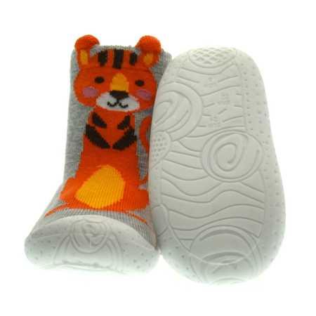 Skarpetki /papcie gumowe dla dzieci Scorpio Tygrys