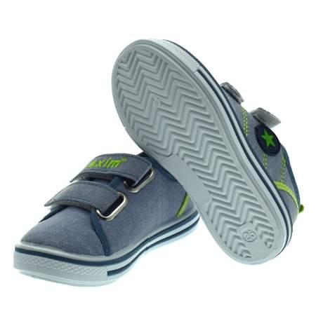 Trampki dla dzieci Axim 2852 Jeans